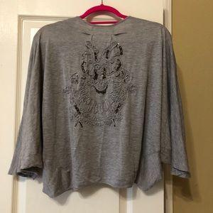 Other - Grey embellished Bolero/shrug